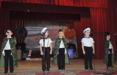 Фестиваль военно-патриотической песни «Солдатских дум избранница»