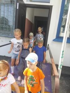 эвакуация воспитанников