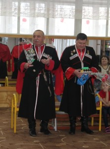 Гости спортивного развлечения Казачья воинская слава